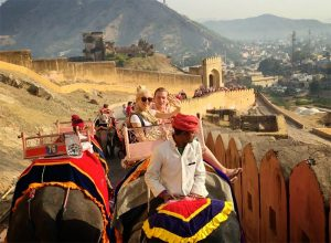 Elephant /Jeep ride to Amber Fort