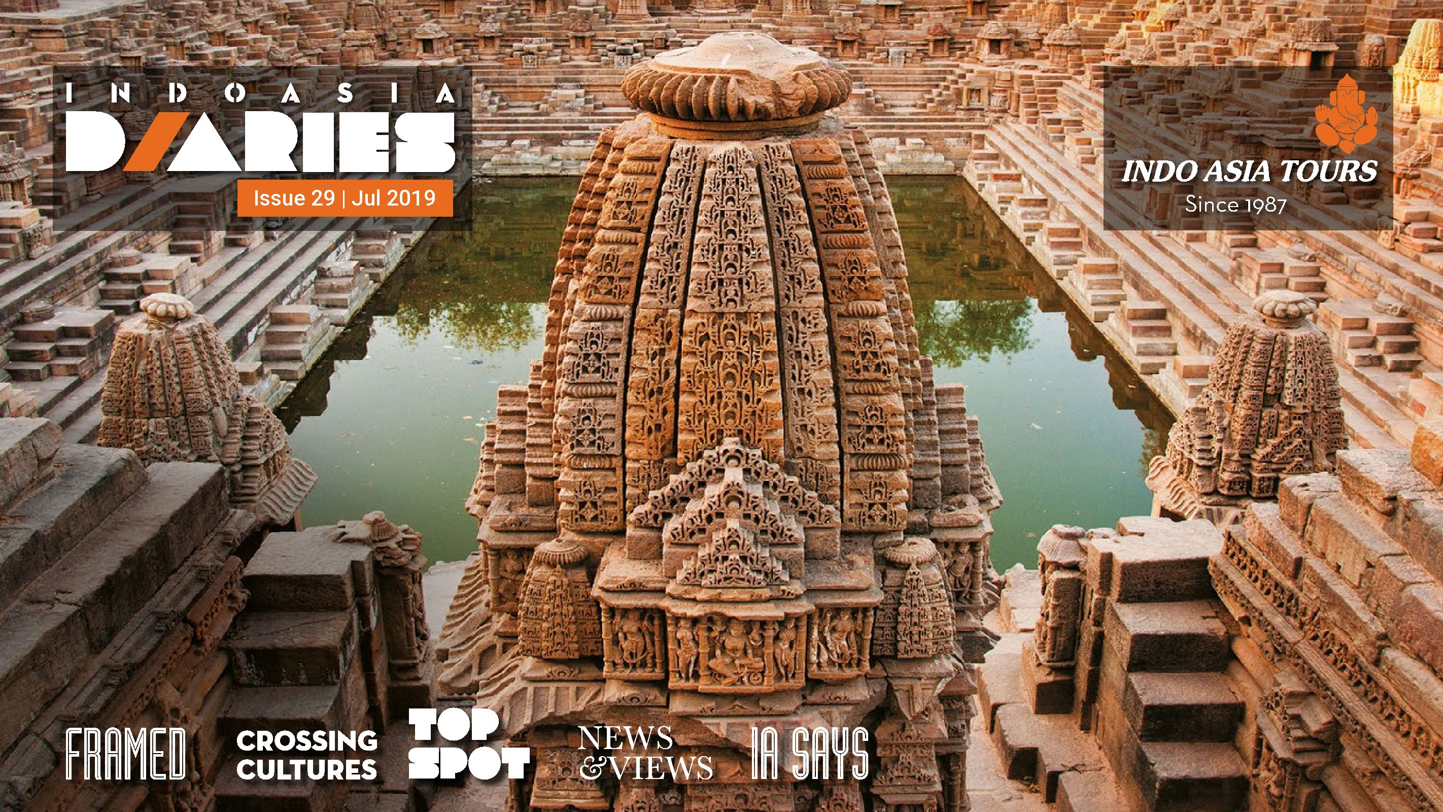 INDOASIADiary-July'19 – Tailor made tour package India